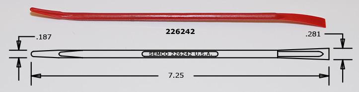 Semco Sealant Smoothing Tool p/n 226242