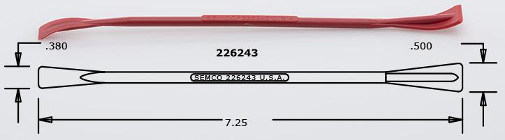 Semco sealant Smoothing Tool p/n 226243