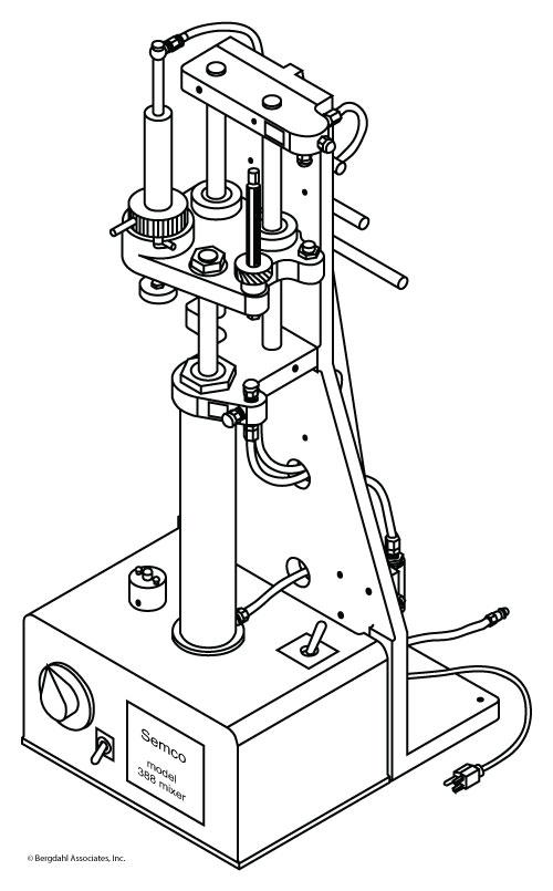 Semco Model 300 Automatic Mixer